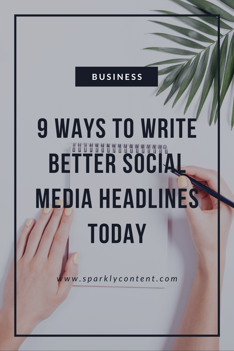 write better social media headlines
