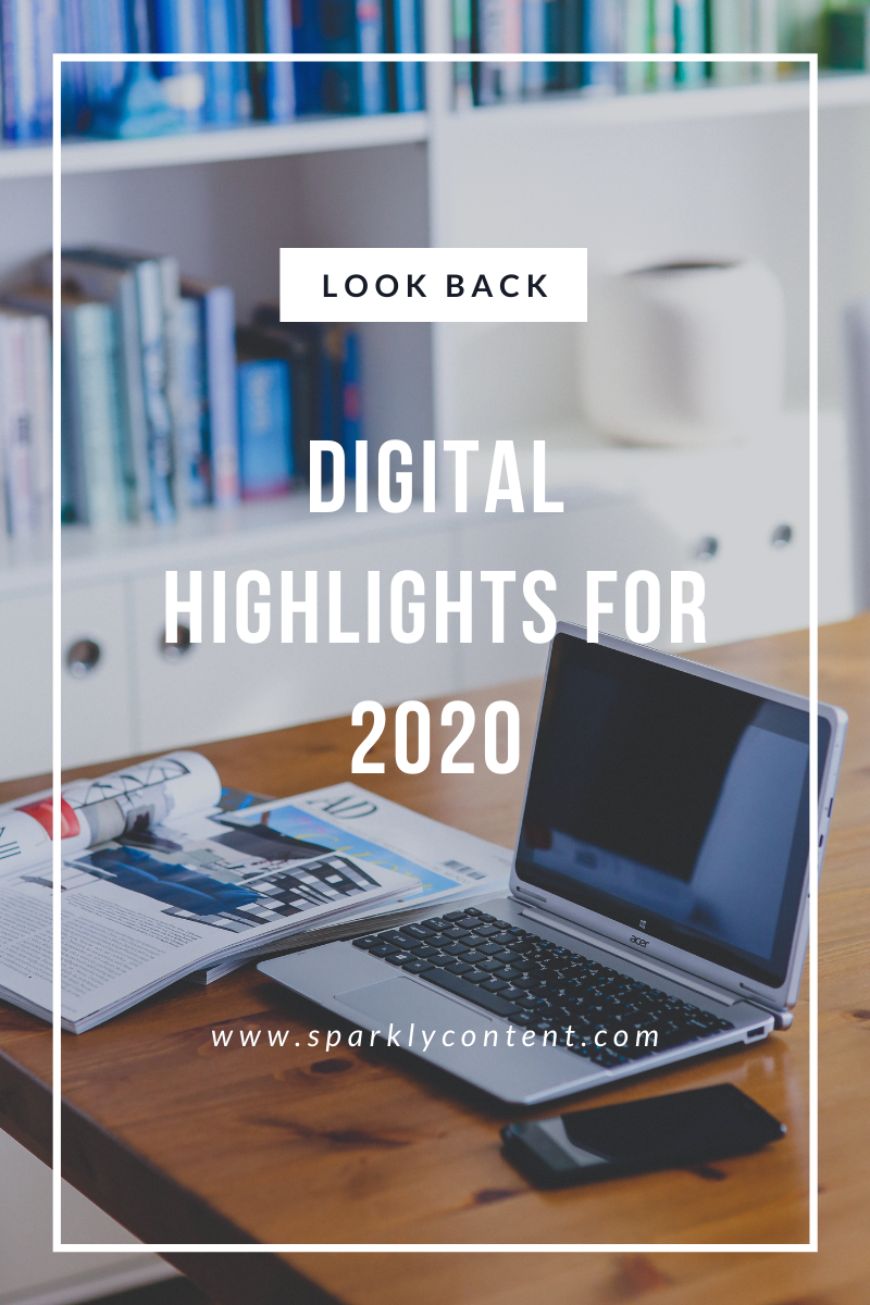 digital highlights for 2020